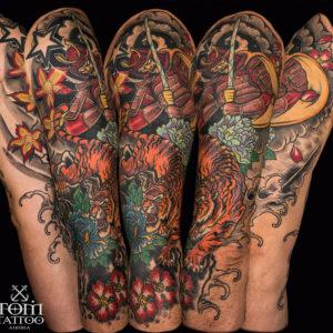 Tattoo Giapponese sulle braccia