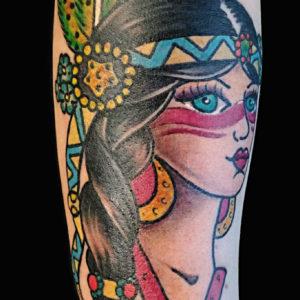 Tatuaggio Indiana