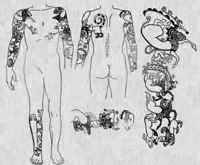 Decorazione mummie di Pazyryk