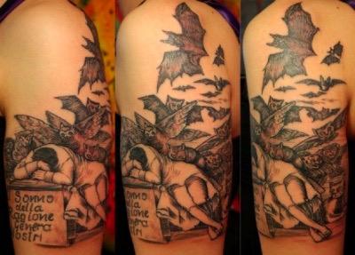 Tatuaggio, Il sonno della Ragione genera mostri