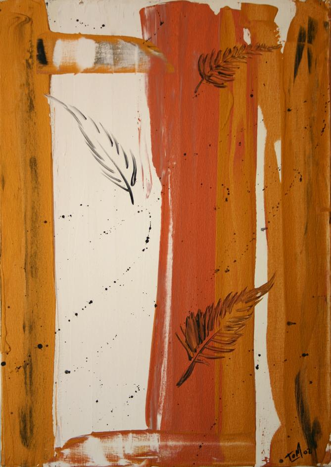 Di fatto ciò che è leggero, si muove al vento chiuso nel rifugio di legno e sughero osservo il movimento