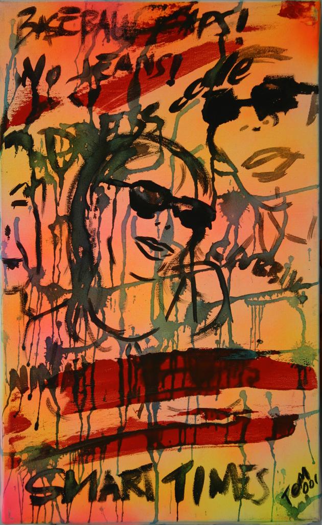 Epopea punk,meravigliosamente graffianti, modelli accessibili a fotoamatori dilettanti, facce gialle ed occhi a mandorla oltre i reflex da ray ban copiati.mi trovi a trafalgar all'ora del te ,con nylon cromato,fluorescente griffato, un pound a scatto e poi vai pure, a fottere fatti.