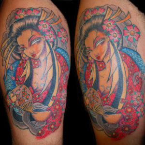 Geisha colorata