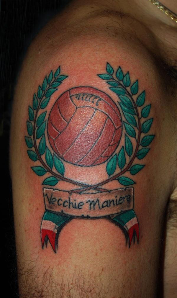 Palla da basket con logo e scritta